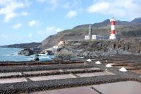zoutpannen en de vuurtorens bij Fuencaliente