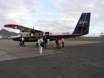 vliegtuig Winair