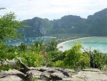 bovenaanzicht Phi Phi